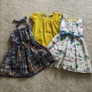 Bundle!  3 EUC size 5-6 dresses!!